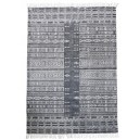 House Doctor tapis Julia noir et blanc 160 x 230 cm